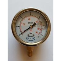 Manometer with glycerine M63 0..6 bar