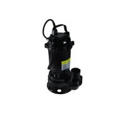 Faecal pumps with shredder without float Black
